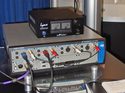 Audio Precision introduced the APx555 audio test instrument at the 137th AES Convention