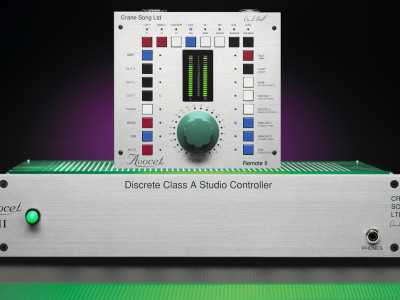 Crane Song Shows New Avocet II Monitor Controller and Insigna Tube Equalizer
