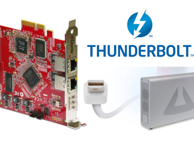 Dante PCIe Now Includes Thunderbolt Expansion Support