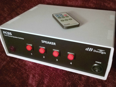 dB Design Debuts A New Four-Channel Speaker Switcher