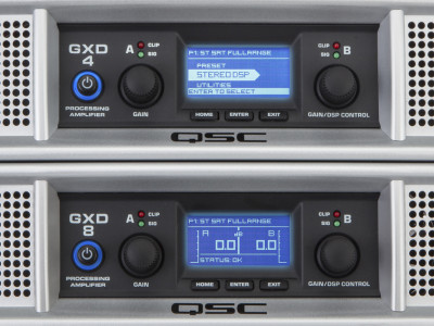 QSC Unveils New GXD Series Processing Amplifiers
