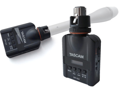 Tascam DR-10X Turns Any Microphone Into a Recorder