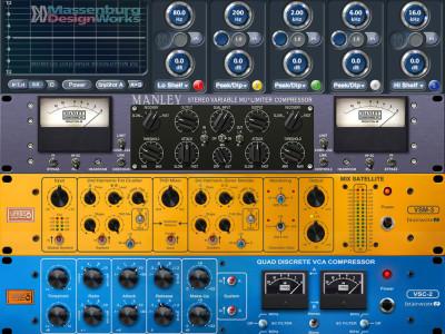 Universal Audio UAD Software v7.11 Features New Plug-Ins From Manley, Brainworx And Massenburg Designworks