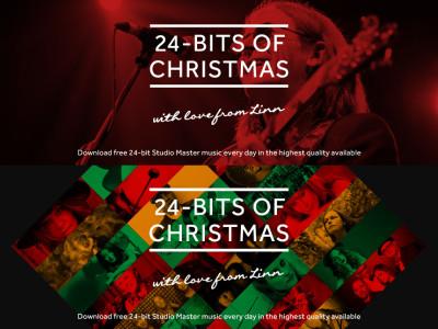 24-Bits Of Christmas—Linn Offers 24 Free High-Resolution Downloads