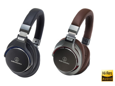 New SonicPro ATH-MSR7 Headphones from Audio-Technica Designed for High-Resolution Audio