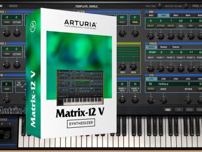 Arturia Launches Oberheim Matrix-12 Analog Polysynth Software Emulation