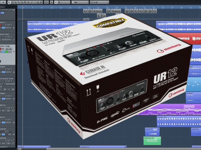 Affordable New Steinberg UR12 24-bit/192kHz Audio Interface