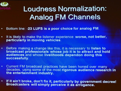 Loudness and the Listening Experience
