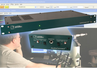 Listen's New AudioConnect Analyzer Audio Interfaces Specifically Designed for Acoustic Testing