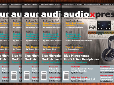 The February 2015 edition of audioXpress has arrived!