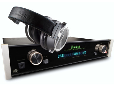 McIntosh's first-ever Headphone and New D150 Digital Preamp/DAC