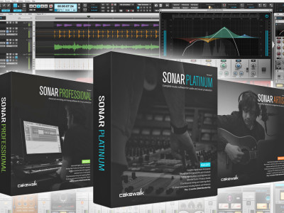 Cakewalk Introduces New SONAR lineup for 2015