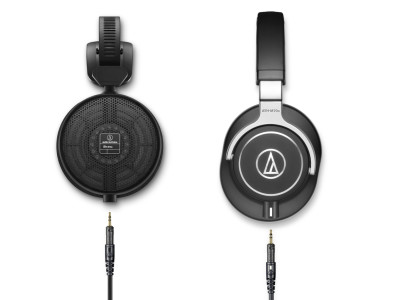 Audio-Technica Debuts ATH-R70x Professional Open-Back Reference Headphones and Launches Flagship ATH-M70x