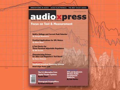 audioXpress March 2015—Focus on Test & Measurement, available online!
