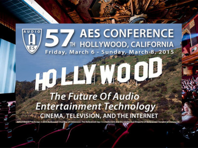 The Audio Engineering Society's 57th International Conference Places Enhanced Focus On Cinema Sound and Emerging Multichannel Technologies