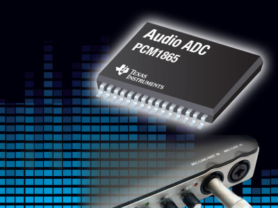 TI Releases Six New High-Performance, Low-Power Audio ADCs