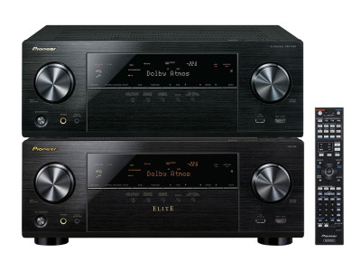 Pioneer Announces New Home Theater Receivers featuring Dolby Atmos, Wi-fi, Bluetooth and HRA support.