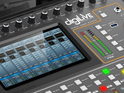 New Studiomaster digiLiVE Hybrid Touch-Screen/Tablet Mixer