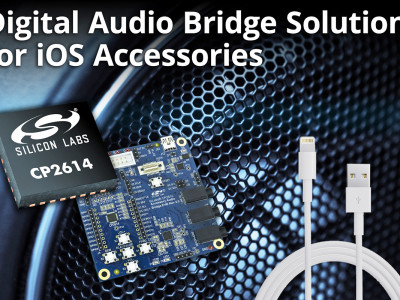 Energy-Friendly IC and Evaluation Kit for iOS Audio Accessory Development