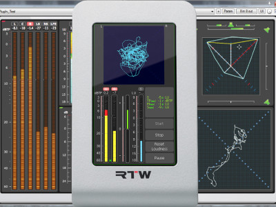 RTW Introduces Mastering Tools Plug-In and RTW TM3-Primus USB TouchMonitor