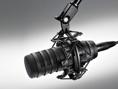 Audio-Technica Debuts BP40 Large-Diaphragm Dynamic Broadcast Microphone