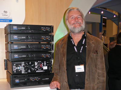 QSC Founder Pat Quilter Receives Parnelli Audio Innovator Award