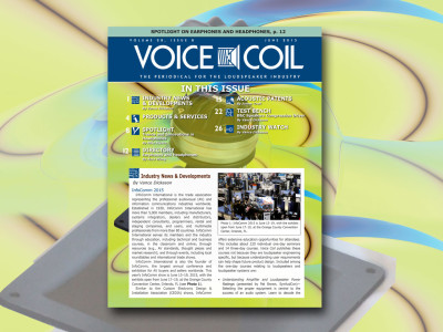 Don't Miss Voice Coil June 2015. Now online!