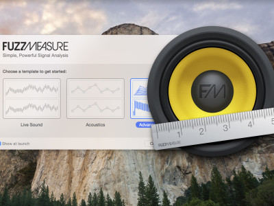SuperMegaUltraGroovy Announces FuzzMeasure 4 Redesigned For OS X Yosemite