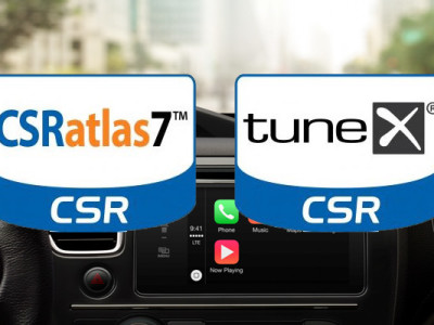 New CSRatlas7 SoC and tuneX Solutions for Display Audio Infotainment and SDR Tuners