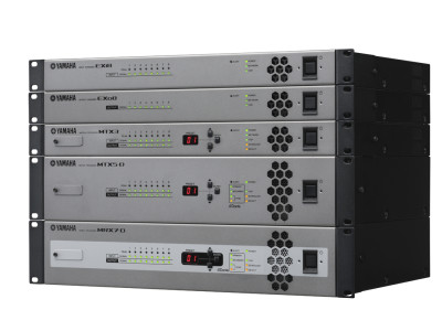 Yamaha Launches MRX7-D Open Architecture Signal Processor At InfoComm 2015