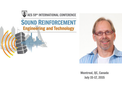Meyer Sound's Bob McCarthy to give Keynote Speech at 59th International AES Conference