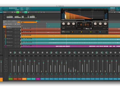 Waves Audio New Tracks Live and H-Reverb Reverb Plug-in