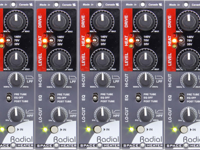 Radial Space Heater 500 Tube Overdrive Now Shipping
