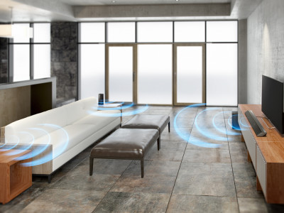 Wireless Surround Sound Made Simple From Sony