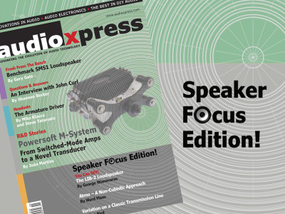 audioXpress September 2015 - Speaker Focus Edition - Now Available