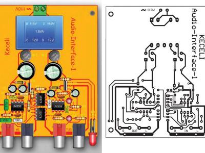 Audio-Optical Isolation Amp