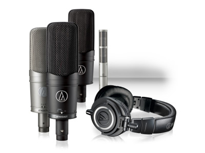 Audio-Technica Offers ATH-M50x Headphone with any 40 Series Microphone