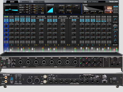 Tascam Announces Celesonic US-20x20 USB 3 Audio Interface