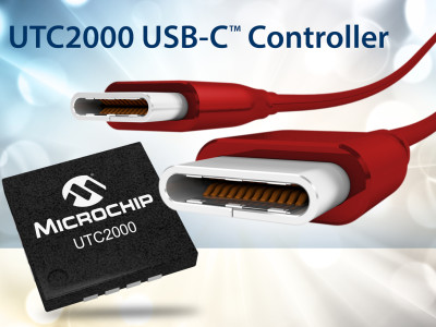 Microchip Boosts USB-C Connector Revolution With Introduction of Cost-Effective Controller