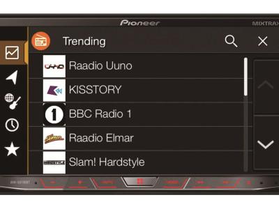 Pioneer Licenses Imagination's FlowRadio Internet Radio Service for its In-Vehicle App Program