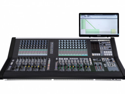 New Studer Vista 1 Black Edition Digital Mixing Console