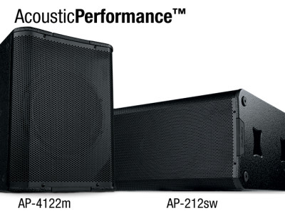 QSC Introduces New AcousticPerformance Loudspeaker Models