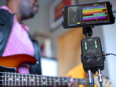 IK Multimedia releases iRig Pro DUO Dual-Channel Professional Mobile Audio Interface