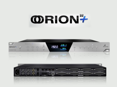 Antelope Audio Introduces Orion32+ Interface With Thunderbolt