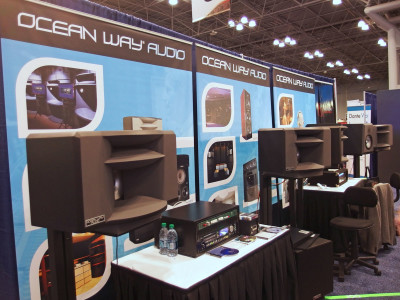 Ocean Way Audio Unveils Two New Near-Field Monitors at 139th AES Convention