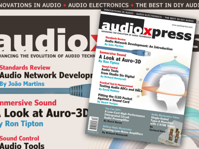 audioXpress December 2015: Tubes, Test and Measurement, Immersive Audio, and More…