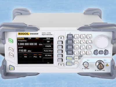 Economical 3GHz RF Signal Generator Series for Designers Involved in Wireless Technology from Saelig
