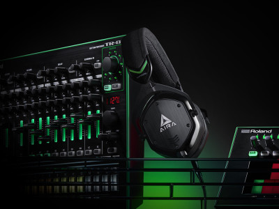 Roland and V-MODA release M-100 AIRA Over-ear Headphones
