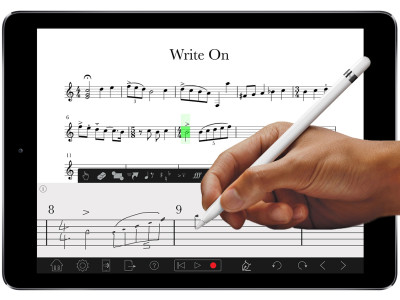 PreSonus Notion for iOS Adds Handwriting and Apple Pencil Support with iPad Pro