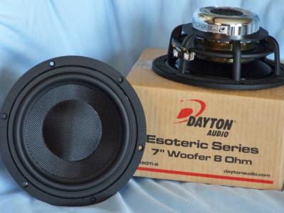 "Test Bench - Dayton Audio ES180Ti-8 7"" High-End Midbass Woofer"